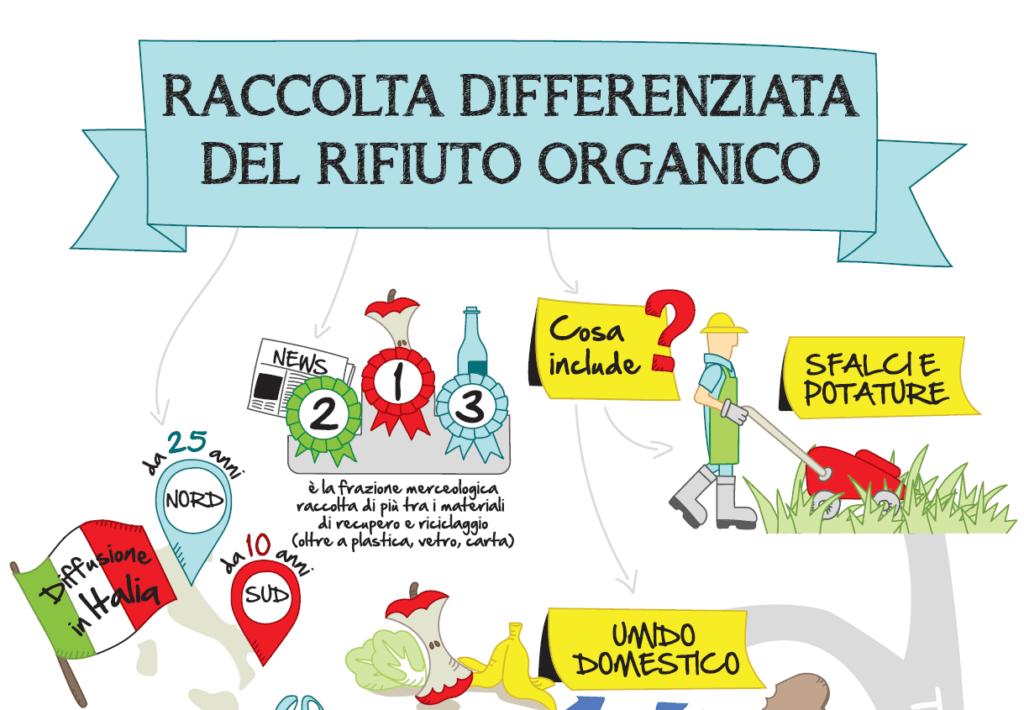 La raccolta differenziata del rifiuto organico