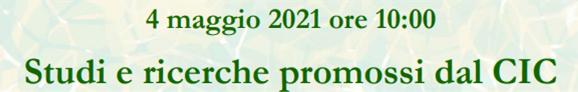 Webinar CIC 4 maggio 2021
