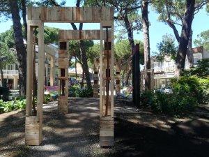Progetto Si' Compost - Cervia Città Giardino - Artista Dominguez