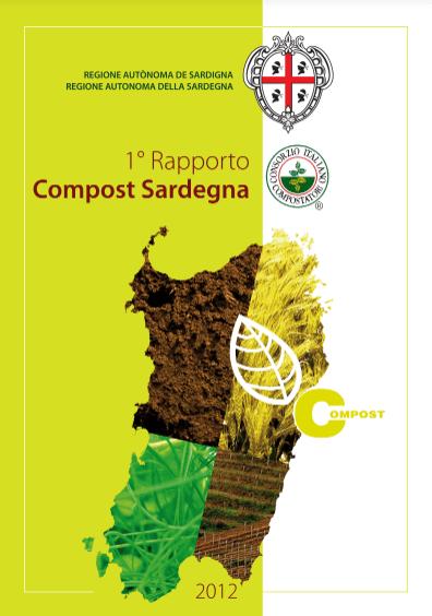 Copertina 1° Rapporto Compost Sardegna   2012