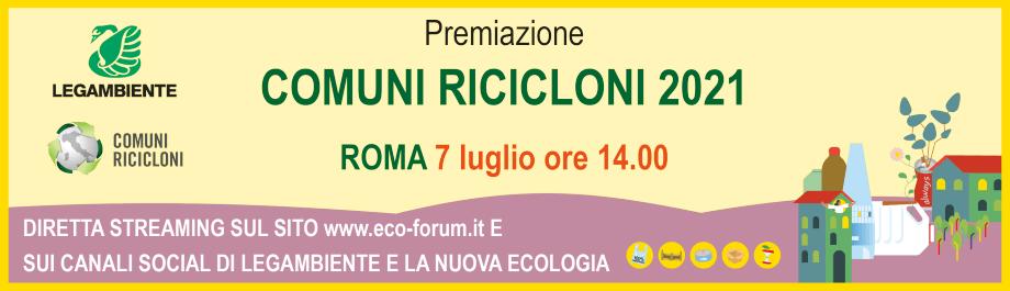 Banner ufficiale comuni ricicloni 2021